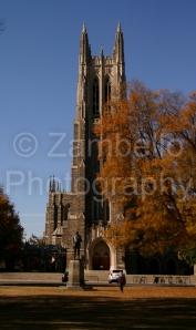 fall, foliage, autumn, leaves, duke, duke chapel, north carolina
