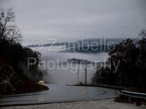mountains, western north carolina, clouds, rain