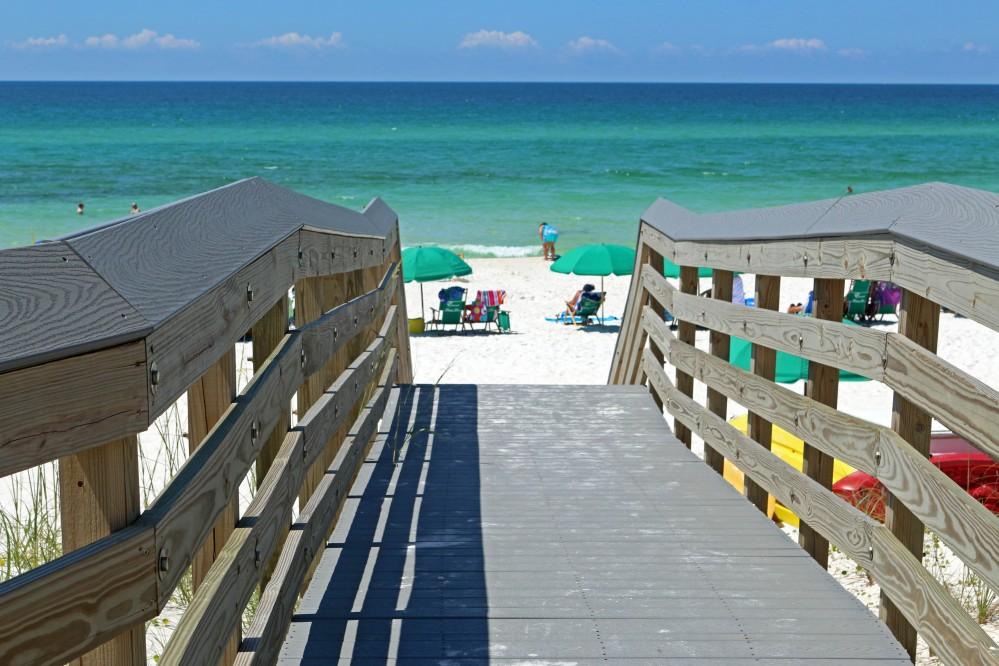 Dune, walkover, beach, florida, nature